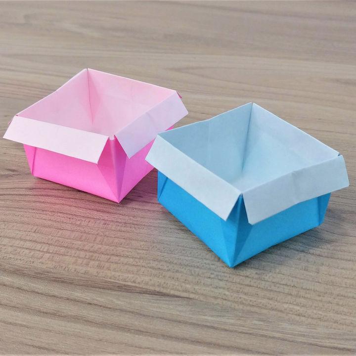 折り紙「箱」の折り方