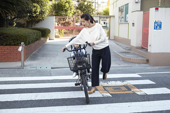 自転車用のチャイルドシート