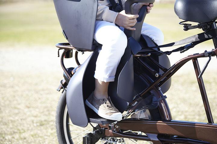 子どもと自転車でサイクリング