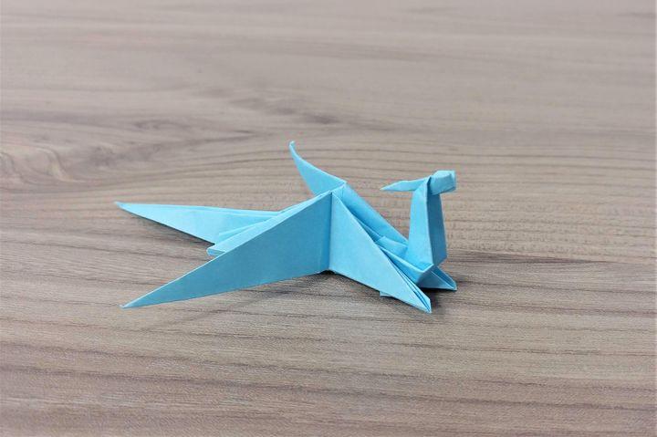 折り紙「ドラゴン」の折り方