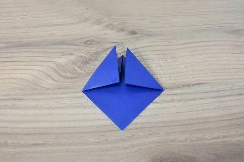 折り紙「兜」手順3