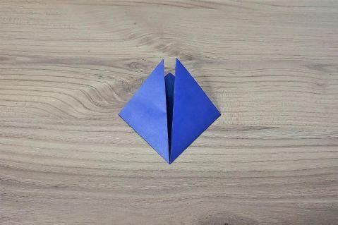 折り紙「兜」手順2