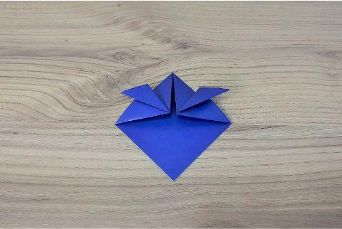折り紙「兜」手順4