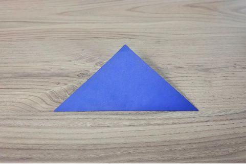 折り紙「兜」手順1