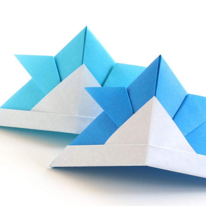 折り紙「兜」の折り方