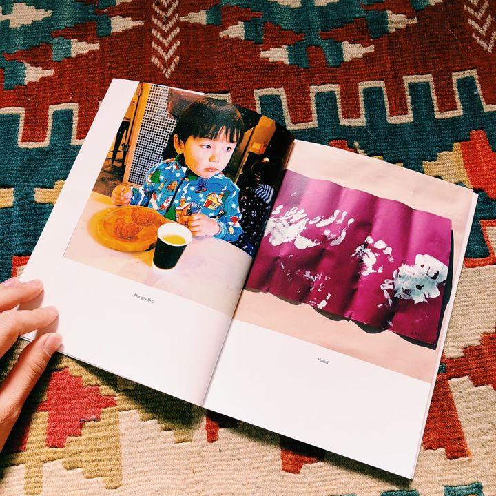 子どものお絵かき作品をフォトブックに