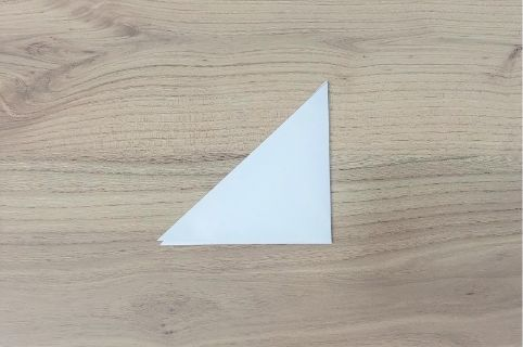 折り紙「あじさい」手順2