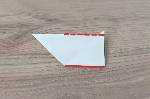 折り紙「あじさい」手順11-1