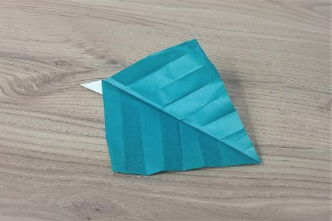 折り紙「あじさい」手順16