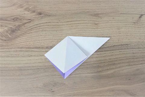 折り紙「あじさい」手順3-3