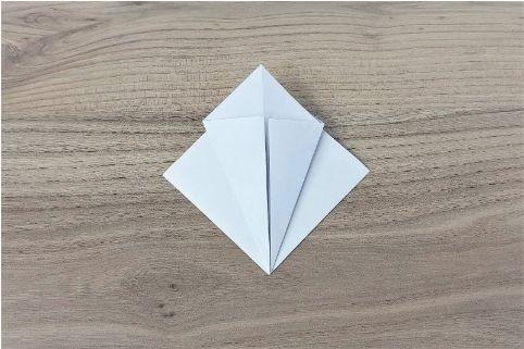 折り紙「あじさい」手順5