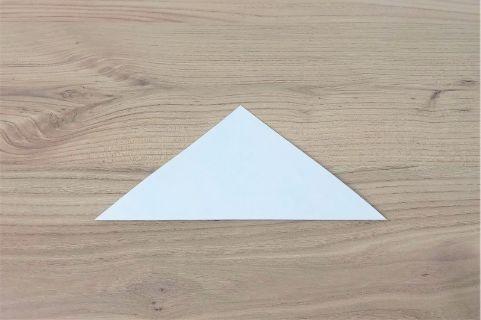 折り紙「あじさい」手順1