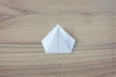 折り紙「あじさい」手順7-1