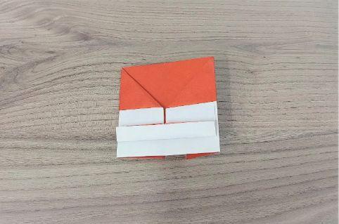 折り紙「財布」手順9-1