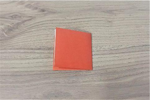 折り紙「財布」手順2