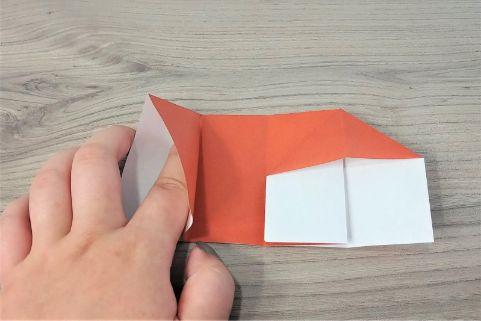 折り紙「財布」手順6-1