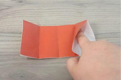 折り紙「財布」手順5-1