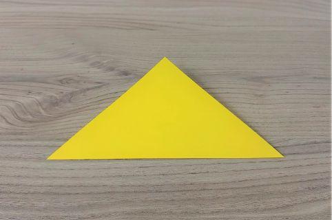 折り紙「バッグ」手順1