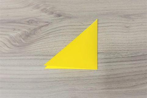 折り紙「バッグ」手順2-1