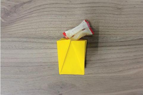折り紙「バッグ」手順14-1