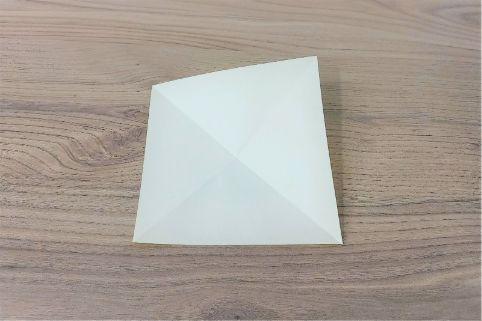 折り紙「バッグ」手順2-2
