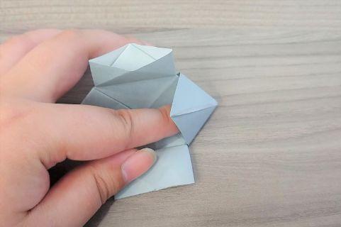 折り紙「カメラ」手順11-1