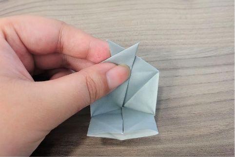折り紙「カメラ」手順14-1