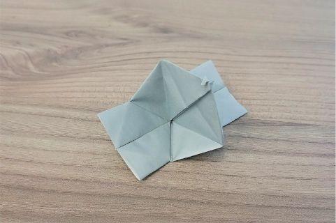 折り紙「カメラ」手順15