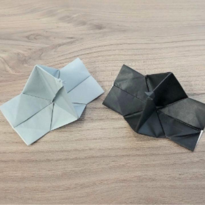 折り紙「カメラ」の簡単な折り方