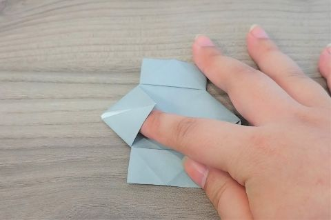 折り紙「カメラ」手順12-1