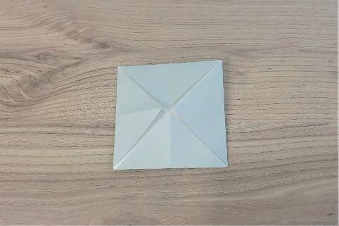 折り紙「カメラ」手順4