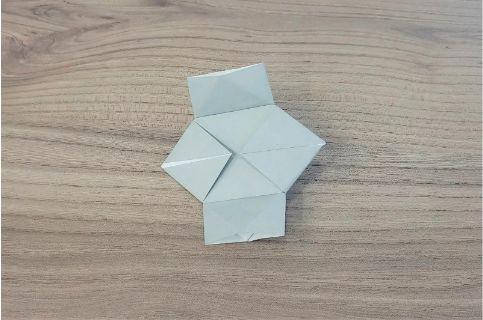 折り紙「カメラ」手順9-1