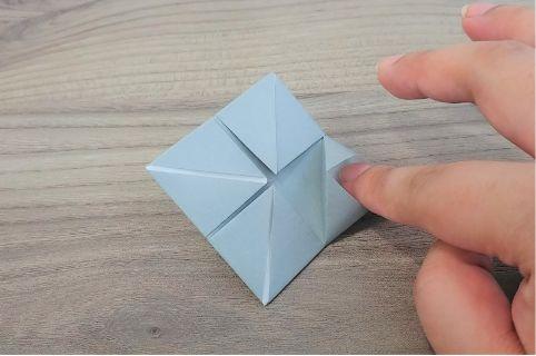 折り紙「カメラ」手順7-1