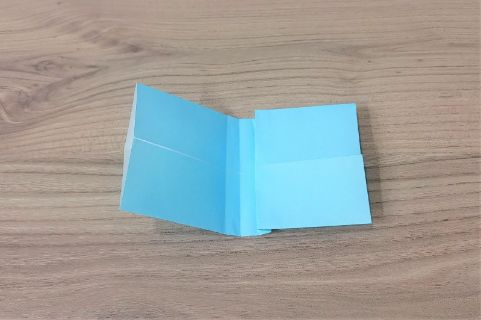 折り紙「リボン」手順6-2