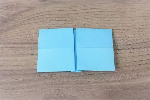 折り紙「リボン」手順7-1