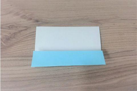 折り紙「リボン」手順2-1