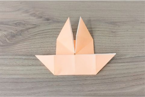 折り紙「だまし船」手順7