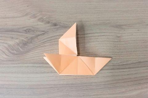 折り紙「だまし船」手順8-2