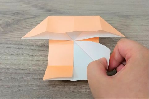 折り紙「だまし船」手順6-1