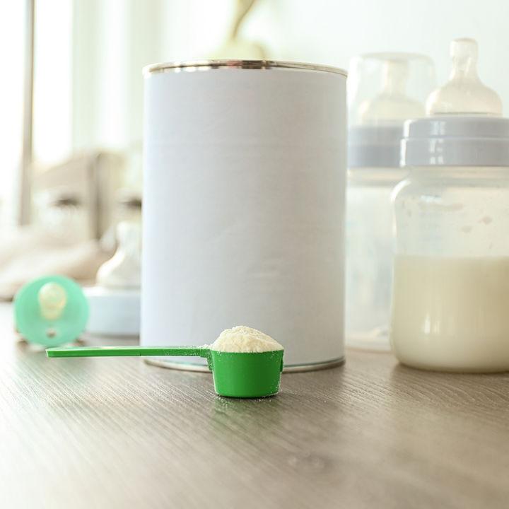 粉ミルクの缶のアレンジを考えよう。再利用やリメイクの仕方