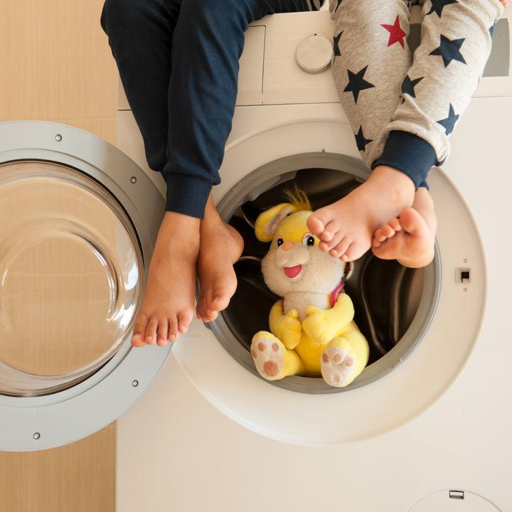 洗濯機を使ったぬいぐるみの洗い方。洗うときのポイントや手順