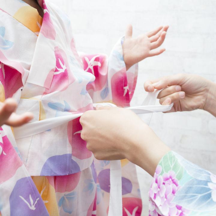 子どもの浴衣の帯の結び方。帯の種類や選び方のポイントなど
