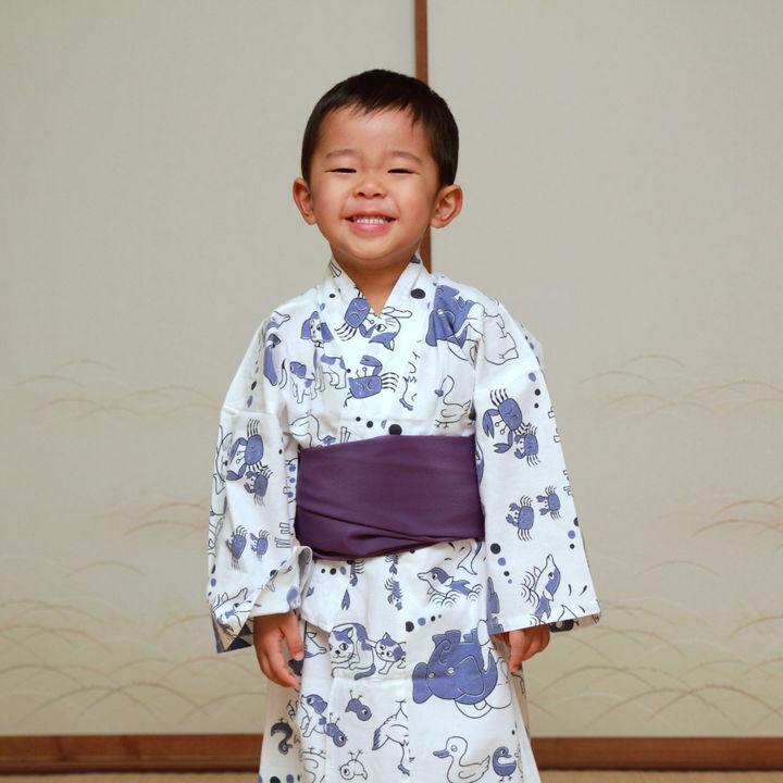 子どもの浴衣の着付けの仕方。作り帯やタオルなど用意したものなど