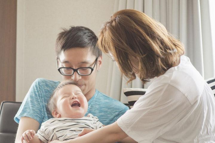 パパとママと赤ちゃん