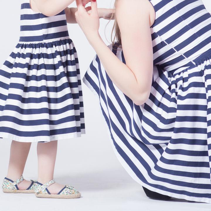 親子のリンクコーデ。ベビー服や子ども服とのリンクの仕方など