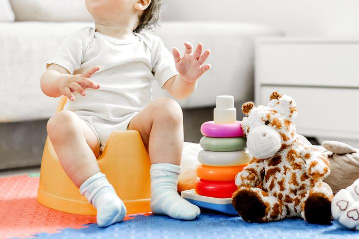 リビングの赤ちゃんスペース