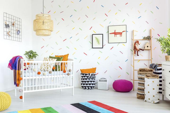 カラフルな子供部屋