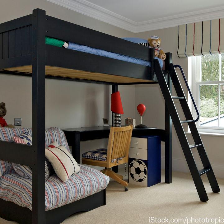 子ども部屋のスペース確保にロフトベッドはよい?選ぶポイントと使った体験談