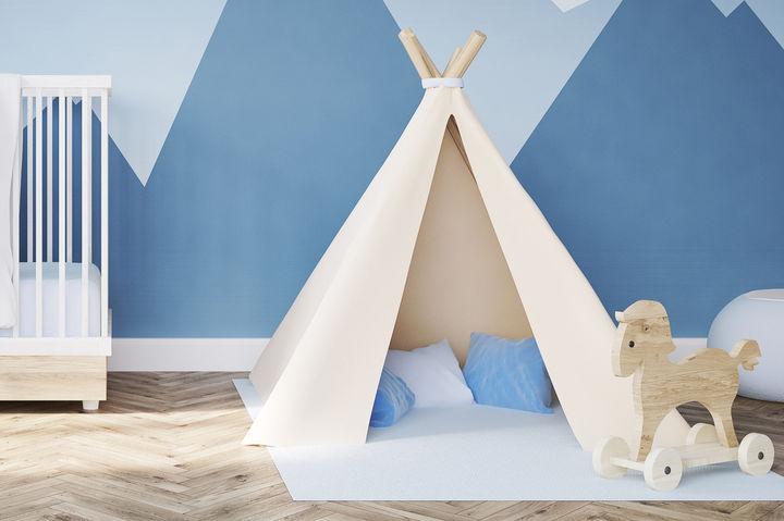 子供部屋のテント