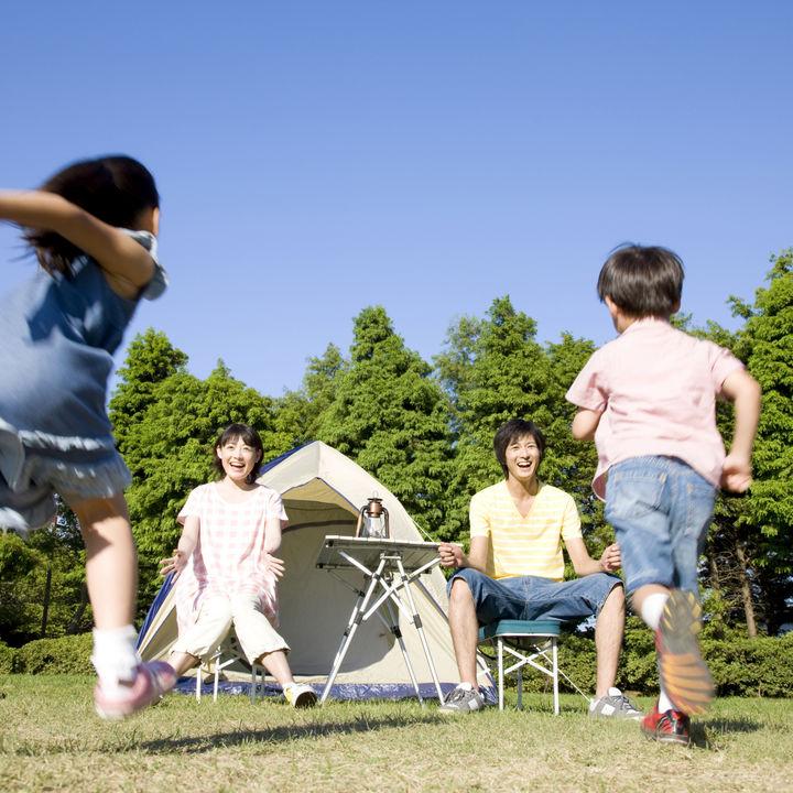 親子でキャンプに行こう!テントなどの準備する道具や場所の選び方